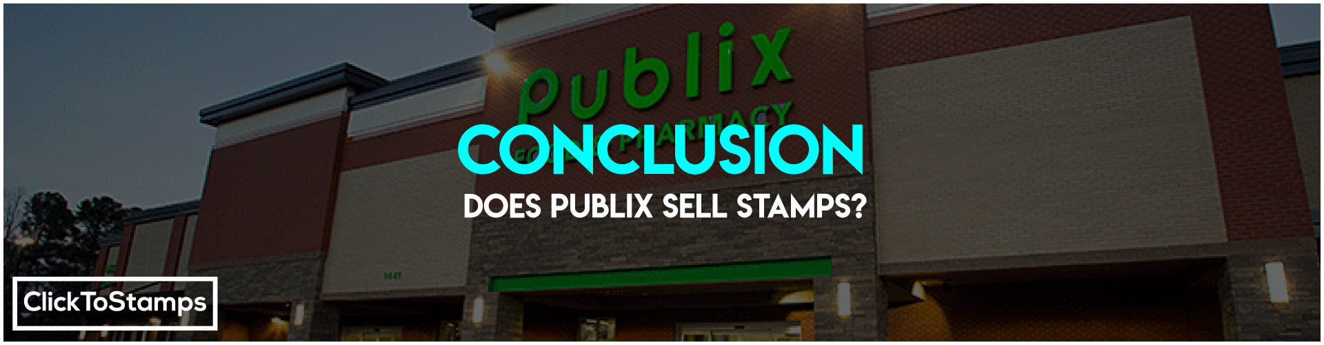 Conclusion ~ Does Publix sell stamps ?