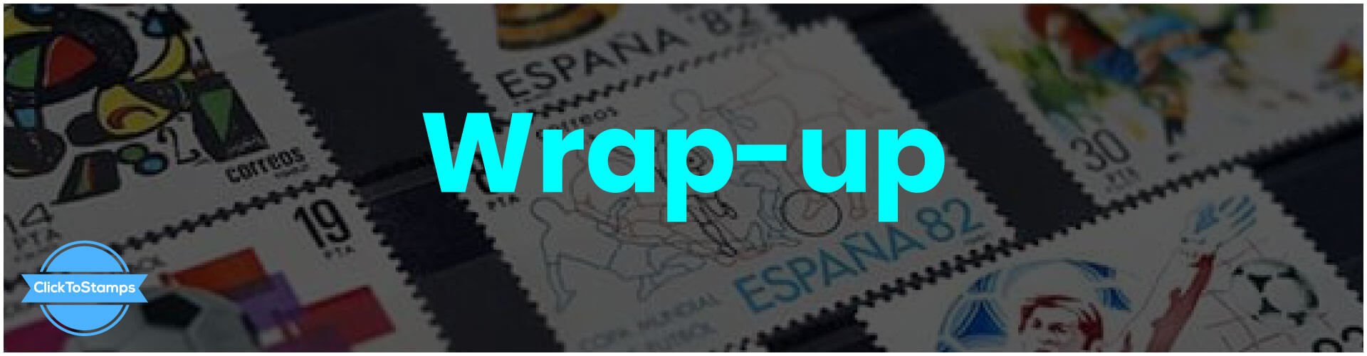 Wrap-up ~ Walmart Stamps