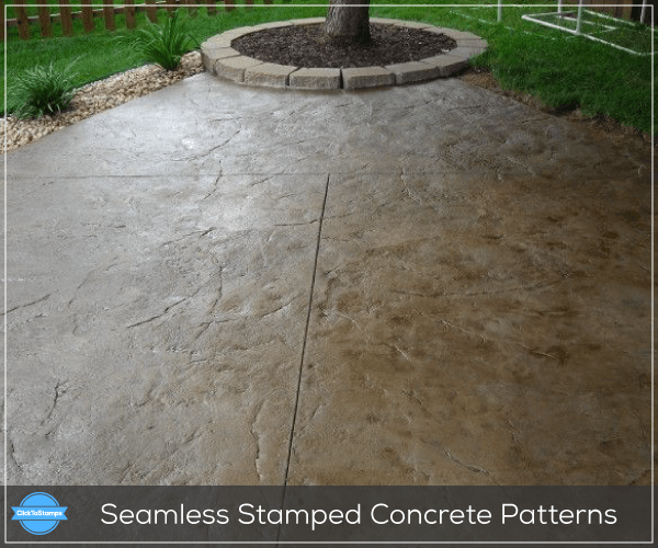 Seamless Stamped Concrete Patterns